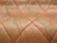 A material innovation by Berlin-based Oya-Meryem Yanik and Anastasiya Koshcheeva, Chester Stitched Wood gives moulded wood a whole new perspective. The quilted plywood is held together at the seams in an ecological way without the use of glue.