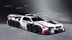 「42輪駆動」「エンジン19基」…BMWが子供の意見をすべて反映させた理想の車をデザイン