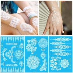 [Visit to Buy] White Body Paint Flash Tattoo Inspired Sticker Henna Lace Ink Fashion Body Art Water Transfer Face Body Painting Decals Stickers Dorm Canvas Art, Canvas Art Quotes, Dot Art Painting, Body Painting, Art Paintings, Tattoo Flash, Art Deco Wedding Theme, Paper Flower Art, Body Art Photography