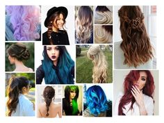 Hair Styles by diannacrosby1349 on Polyvore featuring polyvore beauty ASOS Urban Outfitters