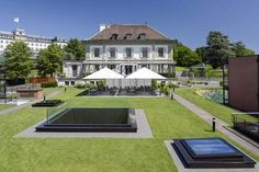 The Hotel Management School of Geneva's Campus is located in Geneva close to the Lake. You want to visit our Campus in Geneva and discover your future's hom Geneva Hotel, Lake Geneva, Live And Learn, Management, Mansions, Alps, House Styles, Hospitality, School