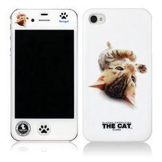 Artlist Collection THE CAT —「THE DOG iPhone 4S/4 case(シベリアンハスキー)」(左)/「THE CAT iPhone 4S/4 case(ベンガル)」(右)