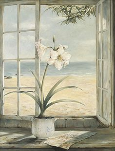 Ocean Amaryllis by Fabrice de Villeneuve