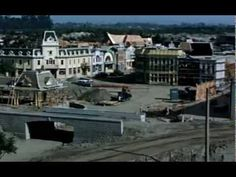 Disneyland in construction - time lapse & video footage