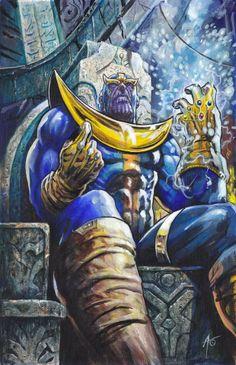 Thanos by Rudy Ao *