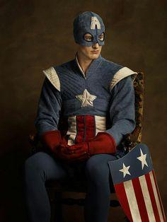 Captain America -- Sacha Goldberger