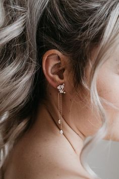 Rose Gold Bridal Earrings #affiliatelink #weddingideas #bridalearrings #bridalaccessories Gold Bridal Earrings, Rose Gold Earrings, Bridesmaid Earrings, Wedding Earrings, Bridesmaid Gifts, Wedding Jewelry, Gold Wedding, Wedding Bells, Traditional Earrings