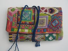 Needlepoint needle case by Davida Macdonald