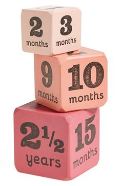 month blocks