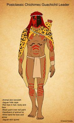 Mesoamerican Fashion - DParadaArt