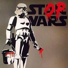 Graffiti by Banksy