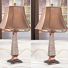 Shop for Coppy 31-inch Antique Table Lamps (Set of 2). Get free delivery at Overstock.com - Your Online Home Decor Shop! Get 5% in rewards with Club O!