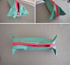 Y tutorial : Make your own cosmetic bag - Hannah Trickett Pencil Case Tutorial, Diy Pencil Case, Pencil Cases, Diy Makeup Bag, Sewing Machine Thread, Small Sewing Projects, Sewing Ideas, Scissor Skills, Make Your Own