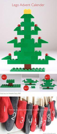 Lego Advent Calendar | willowday