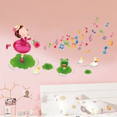 childrens music rooms | ... -Little-girl-blowing-music-Children-s-Room-dance-room-classroom.jpg