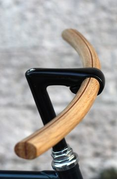 Wooden bike handlebar #xinlelu #fashion #inspiration