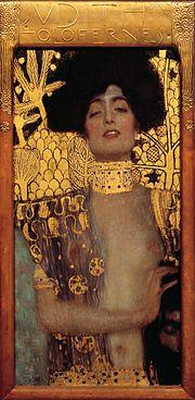 Gustav Klimt, Judith et la tête de Holopherne,  1901