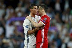 Futbolcular ve dövmeleri Ronaldo Real Madrid, Robert Lewandowski, Cristiano Ronaldo, Messi, Munich, Jupp Heynckes, Champions League Semi Finals, Lo Real, Thing 1