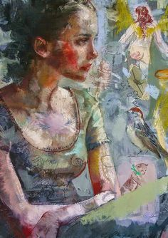 Charles Dwyer - Contemporary Artist - Figurative Painting