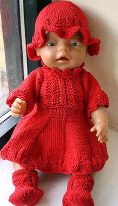 Foto af Babyborn i Solkjole
