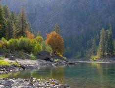 Wenatchee River Bend - WetCanvas