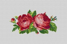 This Pin was discovered by Ren Cross Stitch Love, Cross Stitch Flowers, Cross Stitch Charts, Cross Stitch Designs, Cross Stitch Embroidery, Hand Embroidery, Cross Stitch Patterns, Pixel Crochet, Needlepoint