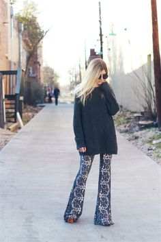 Those pants have us falling in love!