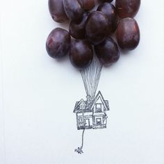Kristian Mensa, a 17-year-old artist from the Czech Republic, uses everyday objects to create these fab illustrations!