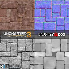 Uncharted 3: Texture Samples, Bradford Smith on ArtStation at…