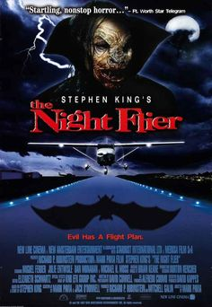 The Night Flier Stephen King Stephen Kings, Films Stephen King, Scary Movies, Good Movies, Awesome Movies, Halloween Movies, Popular Movies, Watch Movies, Latest Movies