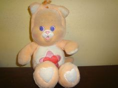 Vintage Care Bears Proud Heart Cat Cub