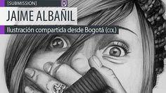 Ilustración. Yuranny de JAIME ALBAÑIL Leer más: http://www.colectivobicicleta.com/2014/03/Ilustracion-de-JAIME-ALBANIL.html