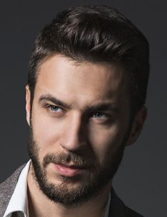 13 Cool Beard Styles from short to long with some this year's most popular haircuts for men.
