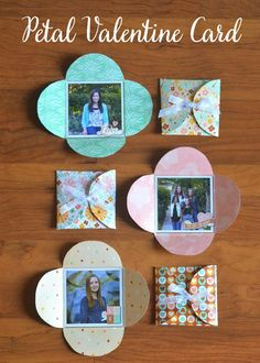 Petal Envelope Cards