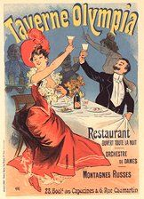 Parisian Restaurant Advertisement