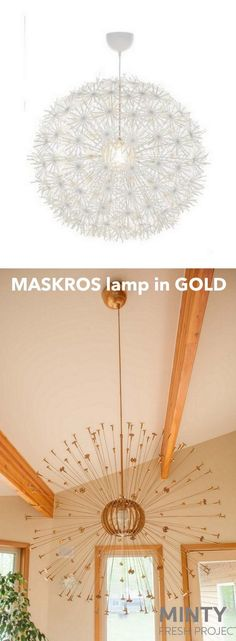 Transform the IKEA Maskros in one step http://www.ikeahackers.net/2017/06/ikea-maskros-hack-one-step.html