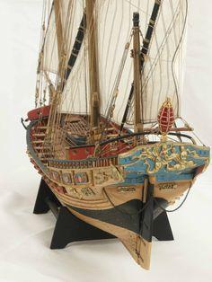 Wooden Model Boats, Wooden Boats, Model Sailing Ships, Model Ships, Mercedes Stern, Beatles, Master And Commander, Naval, Boat Painting