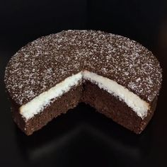 "This is ""Torta doppia con cocco e cioccolato"" by Al.ta Cucina on Vimeo, the home for high quality videos and the people who love them. Fruit Recipes, Sweet Recipes, Cookie Recipes, Dessert Recipes, Holiday Cakes, Christmas Desserts, Chocolate Cake Video, Food Cakes, Delicious Desserts"