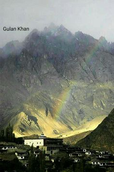 Beautiful photography of Machulu village, Hunza valley, Gilgit Baltistan Pakistan