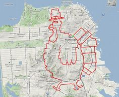 San Francisco cyclist Bret Lobree logged his 53 mile ride with 4600 feet of elevation gain to Strava to wish you a happy Thanksgiving Day. View at Strava: GOBBLE GOBBLE. Ammon Skidmore rode with hi… Giant Animals, Map Projects, Happy Thanksgiving Day, Track Workout, New Forest, Cycling Outfit, City Streets, Art Images, Mountain Biking