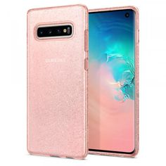 Spigen Liquid Crystal Designed for Samsung Galaxy Case - Glitter Rose Quartz Cell Phone Covers, Cool Phone Cases, Iphone Cases, Usb Gadgets, Phone Screen Protector, Samsung Mobile, Crystal Design, Android, Smartphone