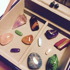 My Collection of Gemstones