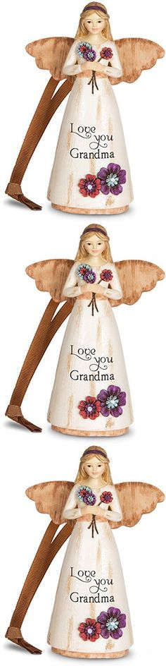 Pavilion Gift Company 03015 Grandma Ornament/Angel Figurine, 4-1/2-Inch