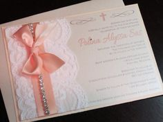 Deluxe Laced with Grace Baptism/Baby Shower by peachykeenevents, $4.55
