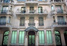 """33 rue du Champs de Mars (1904) by designer Octave Raquin. One of the finest Art Nouveau buildings in Paris. This building earned the nickname """"maison des arums"""" or the house of the lilies, because of its lavish floral and vegetal designs and decorations. via parisperfect"""