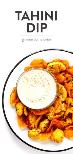 Healthy Snacks This Dreamy Tahini Dip recipe is quick and easy to make in the blender, it's naturally gluten-free and vegan, and it goes with just about everything. The perfect healthy appetizer or snack! Tahini Dip, Tahini Recipe, Hummus Recipe, Appetizers For A Crowd, Healthy Appetizers, Appetizer Recipes, Dip Recipes, Whole Food Recipes, Vegan Recipes