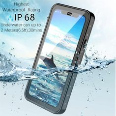 Redpepper Waterproof Case for Apple iPhone XR Underwater, Picture Video, Apple Iphone, Flat Screen, Iphone Cases, Technology, Lens, Pictures, Delivery