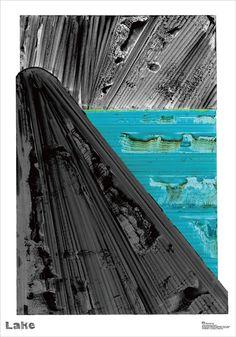 Graphic Design for Exhibition  Design & Illustration by Takafumi Kusagaya