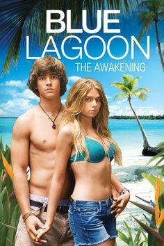 Blue Lagoon: The Awakening (Unrated) Poster Artwork - Indiana Evans, Brenton Thwaites, Denise Richards - http://www.movie-poster-artwork-finder.com/blue-lagoon-the-awakening-unrated-poster-artwork-indiana-evans-brenton-thwaites-denise-richards/