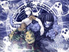 Nigus Sensei and Sid Sensei